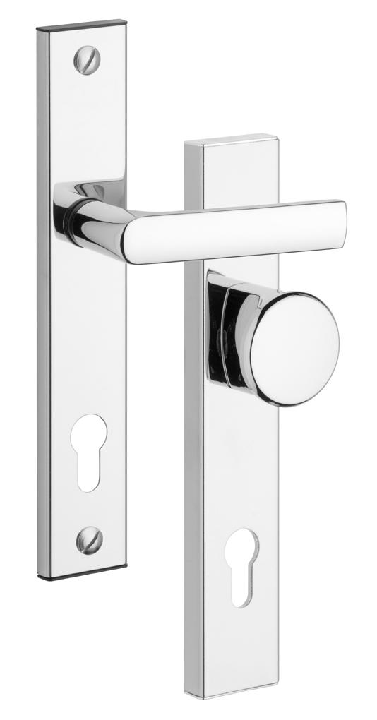 Bezpečnostní dveřní kování BK802/90 CR knoflík