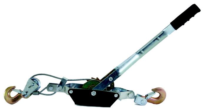 Kladkostroj lanový 2000 kg ocelové lano 1m průměr 5 mm