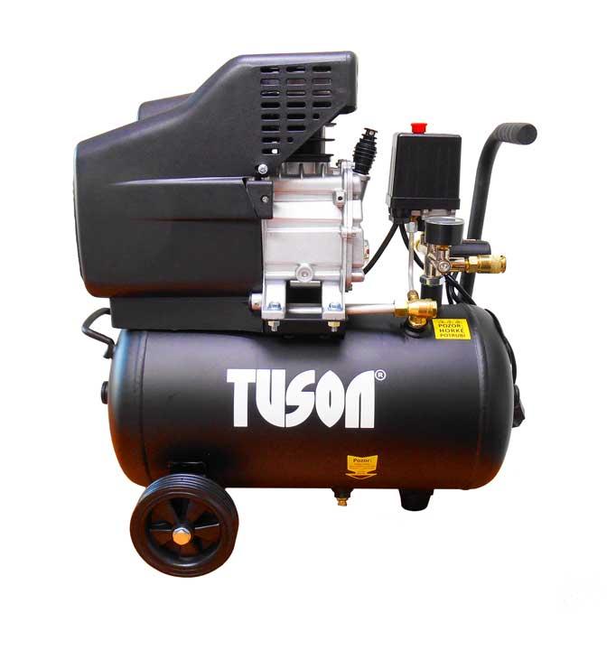 Olejový kompresor 1,5kW; 2,0HP s 24l nádrží